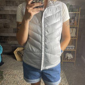 The North Face Silver Down Filled Puffer Vest